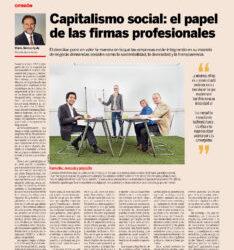 Capitalismo social: el papel de las firmas profesionales